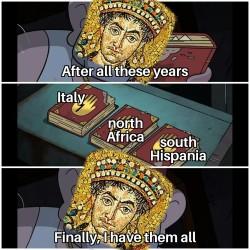 Justinian's accomplishments