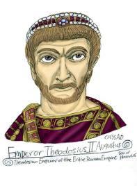 Emperor Theodosius II (r. 409-450)