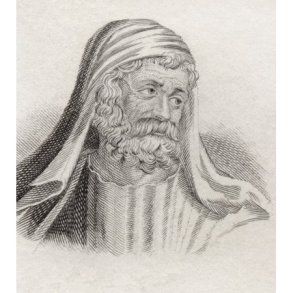 Retired John Kantakouzenos as the monk Joseph