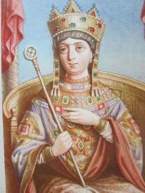 Empress Zoe (Co-ruler 1028-1050), daughter of Constantine VIII