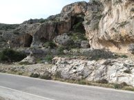 Rocks in Crete formed from the 364 tsunami