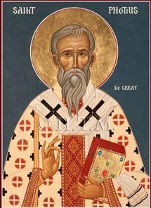 St. Photios, Patriarch of Constantinople (858-867/ 877-886)