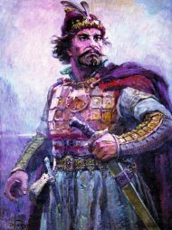 Khan Asparukh of Bulgaria (r. 681-700), 1st ruler of the Bulgarian Empire