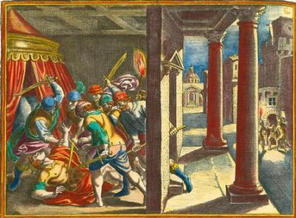 Assassination of Leo V, Christmas 820