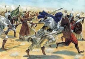 Arab armies begin attacking the Byzantine Empire, 629