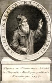 Arius of Alexandria, founder of Arianism