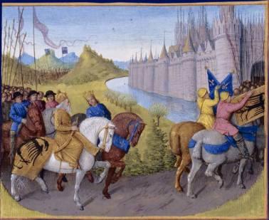 2nd Crusade passes Constantinople, 1146