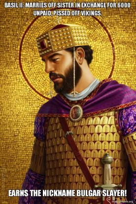 Basil II meme