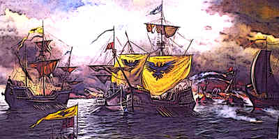 Battle of the Masts, 654, Byzantine defeat to the Arabs