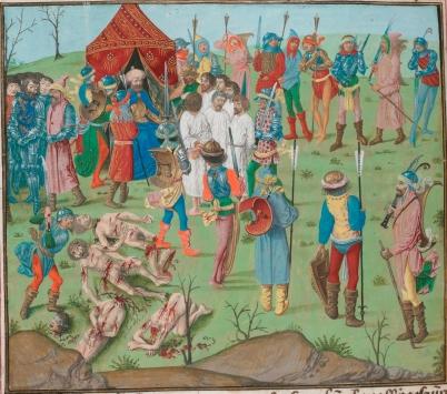 Crusade of Nicopolis, 1396 aftermath, defeat of the Crusaders