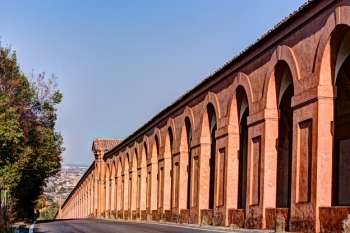 Byzantine style porticos, Bologna
