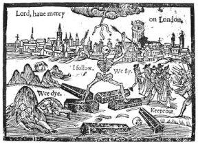 Black Death devastates England