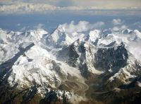 Tian Shan Mountains, Central Asia, said to be the source of the plague