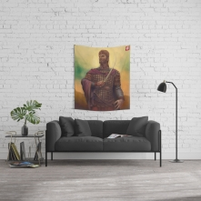 Constantine XI in a living room