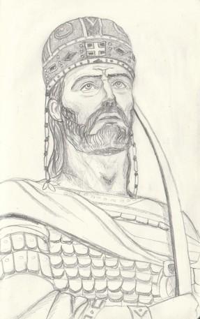 Constantine XI Palaiologos (r. 1448-1453), last emperor of Byzantium, last Roman emperor