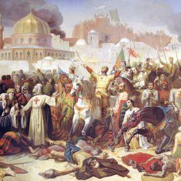 1st Crusade captures Jerusalem, 1099