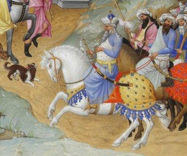 Renaissance painting of Manuel II