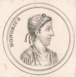 Honorius, Western Roman emperor (395-423), brother of Arcadius