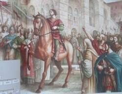 Isaac II Angelos proclaimed emperor, 1185