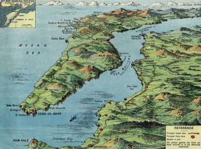 Gallipoli Peninsula, Thrace, occupied by the Ottomans in 1354