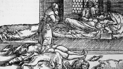 The dead from the Black Death
