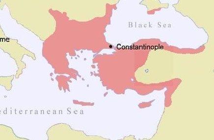 Byzantine Empire in 1143