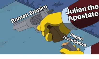 Meme of Julian's plans