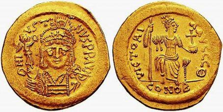 Solidus of Justin II