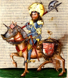 St. Ladislaus I, King of Hungary (1077-1095), father of Irene