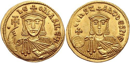 Coin of Leo V