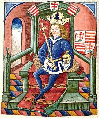 King Louis I of Hungary (r. 1342-1382)