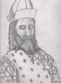 Emperor Manuel II Palaiologos (r. 1391-1425), son of John V