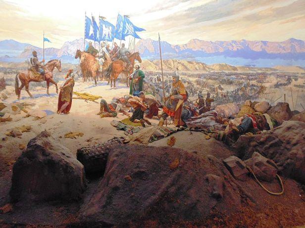 Aftermath of the Battle of Manzikert, 1071