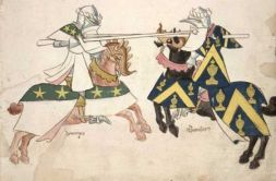 Jousting, introduced by Manuel I to Byzantium