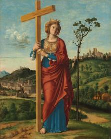 St. Helena, mother of Constantine I finds the Holy Cross