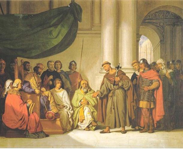 Alexios I meets the People's Crusade in Constantinople