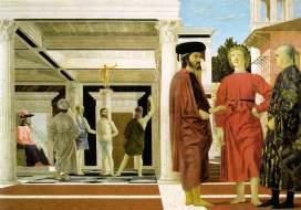 John VIII (far left) in a painting by Piero della Francesca