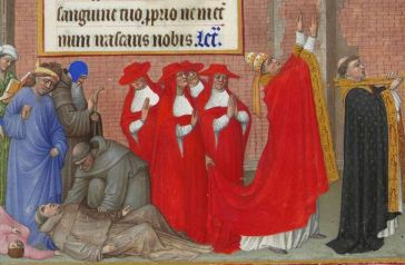 Monks and priests during Justinian's Plague