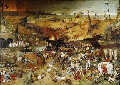 Black Death Plague in Byzantium, 1347