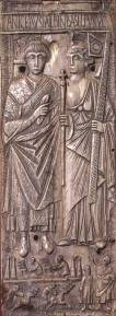 Emperor Basiliscus (left) r. 475-476