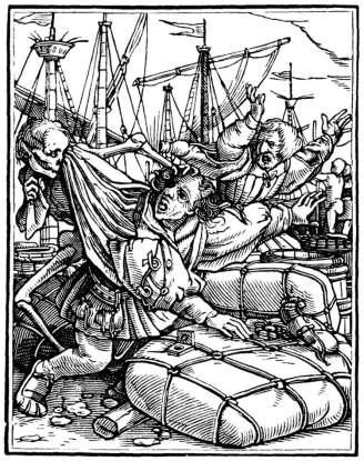 Ship crews affected with the Plague