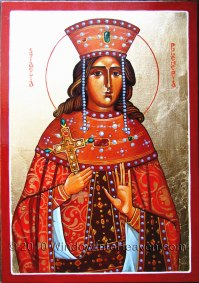 Empress St. Pulcheria, sister of Theodosius II and wife of Marcian