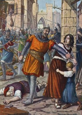 Rebellion of Bardanes and 2nd overthrow of Justinian II, 711