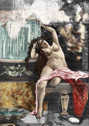 Death of Empress Fausta in the bath, 326