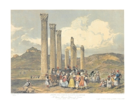 Byzantine columns along the Bosporus