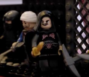 Lego John Tzimiskes leads the assassination of Nikephoros II