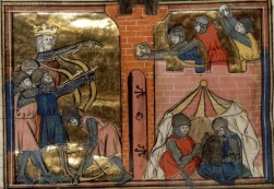 John II's army in battle in Asia Minor, 1137