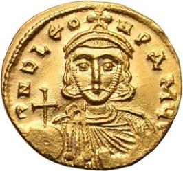 Coin of Emperor Leo III