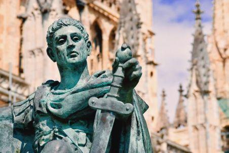 Emperor Constantine I the Great (r. 306-337)