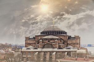 Dome of the Hagia Sophia